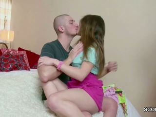 18yr Old Small Teen Andrea get Her First Fuck by Big...