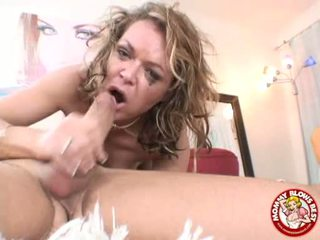 Messy Hot Kelly Leigh Could Not Wait To Taste Her Reward Spurting On Her Mouth