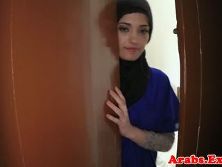 Arabisch amateur beauty pounded für bargeld, porno 79