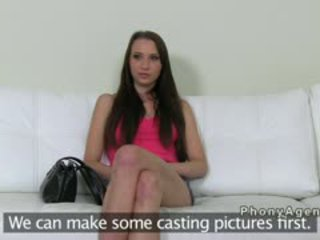Czech Amateur Squirting On Casting With Fake Agent