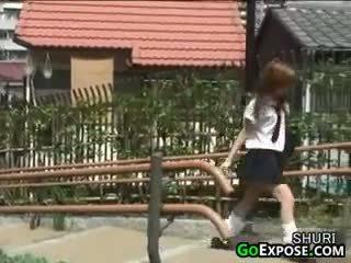 Japonské školáčka nohavičky