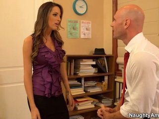 Kortney Kane Is A Spicy Secretary Beside Great Hooters