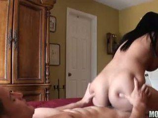 brunette, hardcore sex, big dick