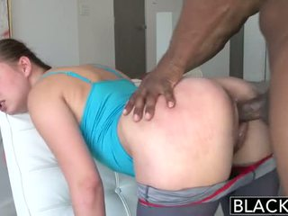 Blacked 18 Years Old Addicted To Black...
