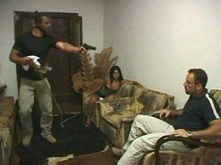 Brasilialainen aisankannattaja perseestä sisään etu- of aviomies mukaan irvinkloss