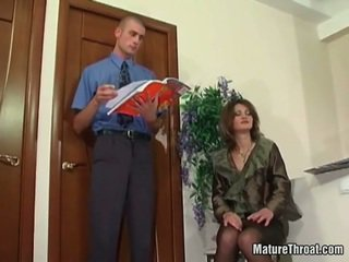 Sensuous donna got choked s s oustanding rooster