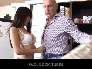 Young assian prawan in a fuck lesson