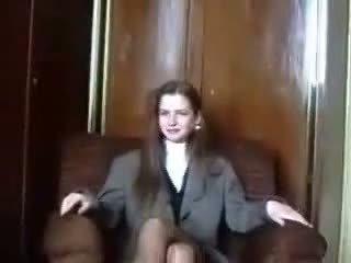 수줍은 라트비아의 virgin 이다 seduced 에 camera 부분 1