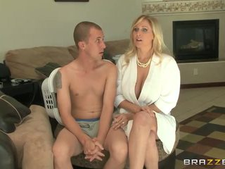 blondes, suur rind, blowjob