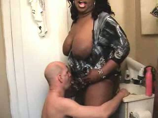 sucking, big boobs, interracial