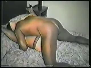 Édes szőke feleség gets victimized által fekete fasz videó