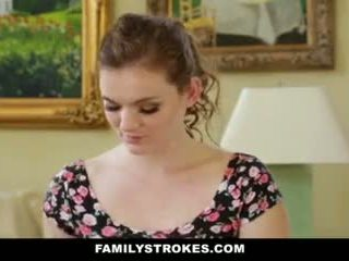 Familystrokes- step-sis obsessed may older brother