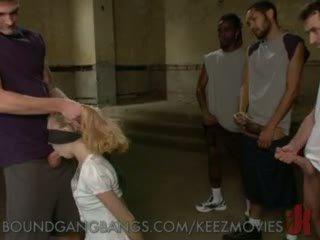 James deen - fantasy gangbang rumpe brutal munnsex binding gangbang handling slav