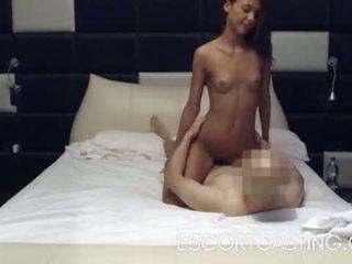 Skinny Teen Escort Caught On Hidden Camera