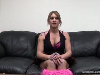 Casting an anal loving slut