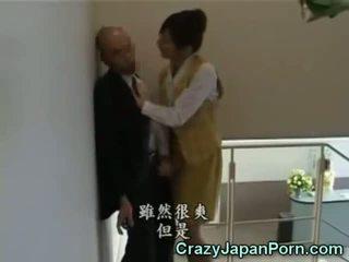 Šílený honění v tokyo kancelář!