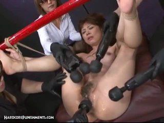 日本语 奴役 性别 同 hary 的阴户 亚洲人 妓女 和 filthy 玩具