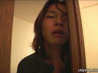 Японська підліток gets брудна в the bath uncensored