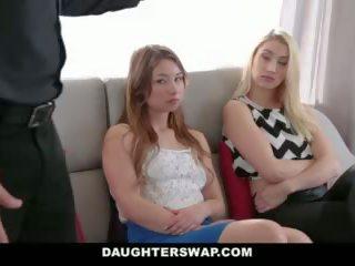 Daughterswap - tricking & kurang ajar their dads during mardi-gras