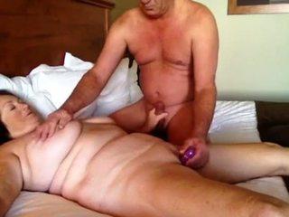 Afternoon sex part 1 Grandma cums