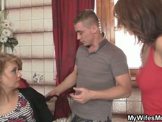 He Bangs Wife's Hot Mom, Free Mature HD Porn dc