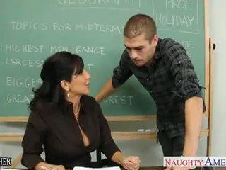 セックス, 教師, milf