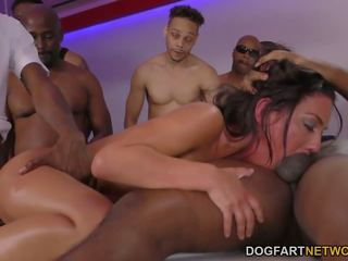 Amara romani gets gangbanged s črno cocks: brezplačno porno 6f