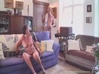 blow darbą, močiutė, blowjob
