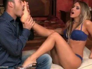 Aleska diamond enjoying horký noha fetiš pohlaví