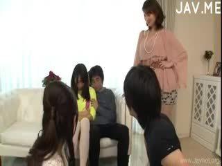 japán, group sex, blowjob