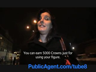 PublicAgent Cheating Alice Takes my Cum in her mouth