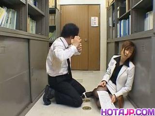 Misaki inaba kissed на колготи