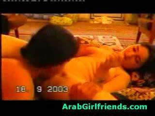 blowjob, bạn gái, arab