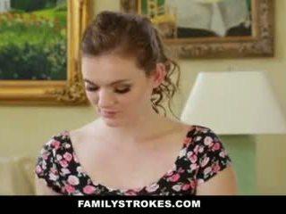 Familystrokes- step-sis obsessed z starszych brat