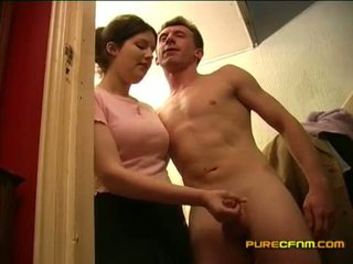 Spying em o nanny a masturbar fora dela boyfriend