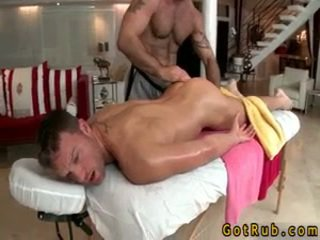 Hunk gets astounding homo massage