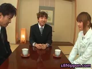 japansk, baben, hårig