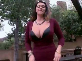 Alison tyler - velika naravna prsi dobili zajebal