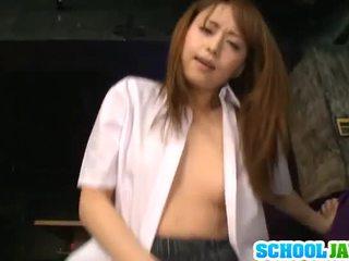 Akiho yoshizawa pleases massif yonker