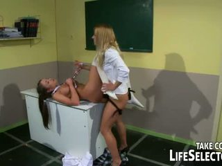 Life Selector: Nikky Thorne sexually punished by her step mom