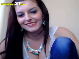 brunetka, webcam, amator