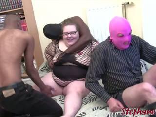 Ophelie BBW En Mini Gang Bang, Free BBW Gang HD Porn af