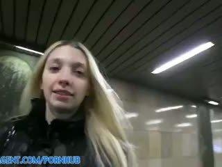 Miriama kunkelova - publicagent độ nét cao nhợt nhạt gầy mina stretches cô ấy âm hộ đến có của tôi to con gà trống