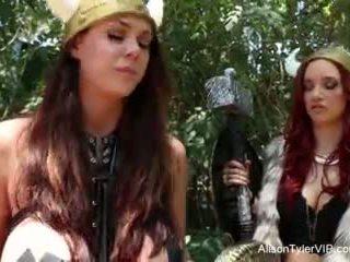 Alison tyler viking समलैंगिकों