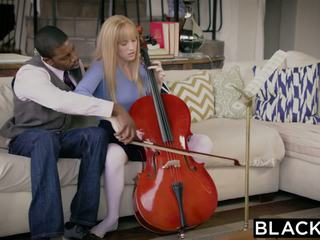 BLACKED First Interracial For Riley Nixon