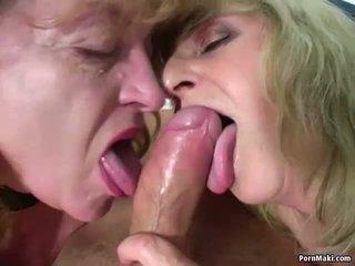Two bà nội một tinh ranh: miễn phí thực bà nội khiêu dâm khiêu dâm video ae