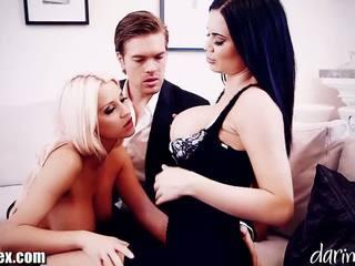 Daringsex cumswapping 女性は女性男性 三人組