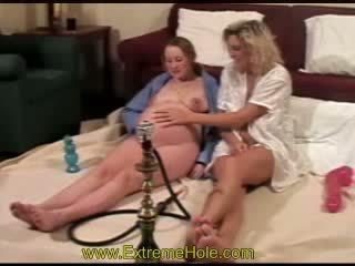 schwanger, lesbisch, fisting