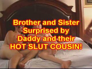 Αδελφός και sister γαμώ τους μωρό ξάδερφος