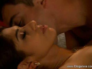 lidenskapelig, par, sensual